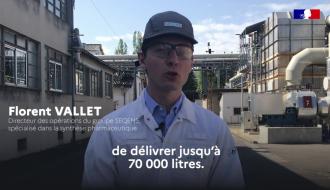 COVID-19 | Un groupe industriel mobilisé pour produire du gel hydroalcoolique | Gouvernement