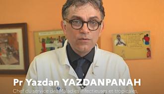 COVID-19 | Le professeur Yazdan Yazdanpanah répond à vos questions