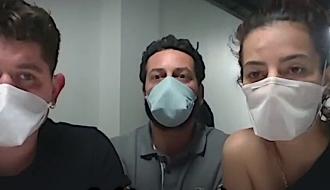 Les fondateurs de Coco&Rico témoignent de leur mobilisation dans la fabrication de masques