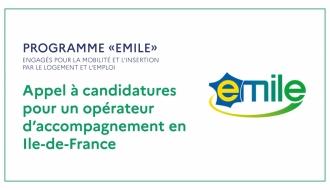 Appel à candidatures pour un opérateur d'accompagnement en Ile-de-France