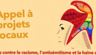 """Appel à projets locaux """"Mobilisés contre le racisme, l'antisémitisme et la haine anti-LGBT"""" 2020/2021"""
