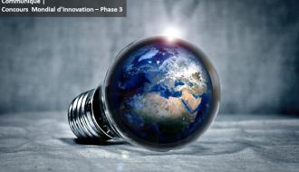 Communiqué |  Concours Mondial d'Innovation – Phase 3