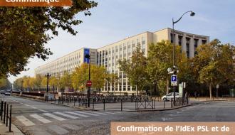 Communiqué   Confirmation de l'IdEx PSL et de l'IdEx Université de Paris-Saclay