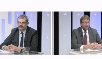 Entretien entre Sylvain Mathieu, délégué interministériel pour l'hébergement et l'accès au logement et Jean Paul Vaillant, Président de l'UNAFO en clôture de la semaine du logement accompagné de l'UNAFO