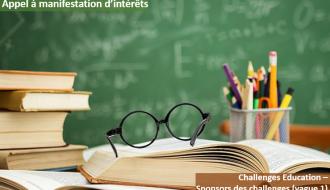 Appel à manifestation d'intérêts | Challenges Education - Sponsors des Challenges (vague 1)