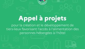 Lancement d'un appel à projets pour le développement de tiers-lieux favorisant l'accès à l'alimentation des personnes hébergées à l'hôtel
