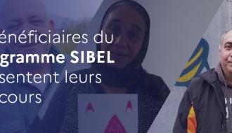 6 bénéficiaires du programme SIBEL présentent leurs parcours d'insertion vers l'emploi et le logement