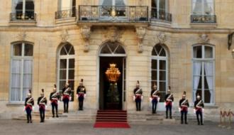 L'Hôtel de Matignon vu de la Cour d'honneur