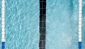 Une ligne de natation