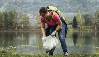 Ramassage de déchets saugages