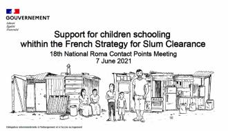 18ème rencontre des points de contacts nationaux « Roms » de la Commission européenne : la Dihal fait un point d'étape sur la politique de résorption des bidonvilles en France