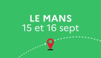 Le Train de la relance fait étape en gare du Mans