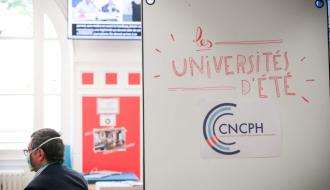 Participez aux 2èmes universités d'été du CNCPH du 20 au 22 septembre 2021