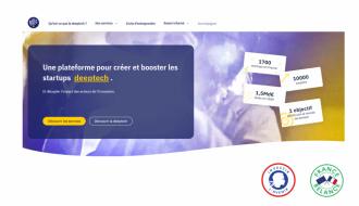 Lancement de la plateforme « Les Deeptech.fr » pour accroître l'émergence et la croissance des startups Deeptech