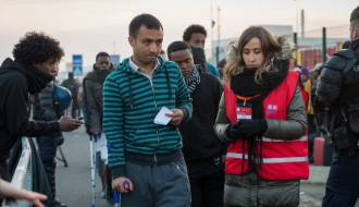 Dismantlement of the Calais camp