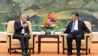 Franco-Chinese relations are getting stronger