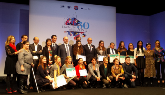 "Award of the ""Erasmus+ et moi"" competition prizes to mark the programme's 30th birthday"