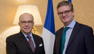 France and the European Commission are determined to strengthen security in Europe