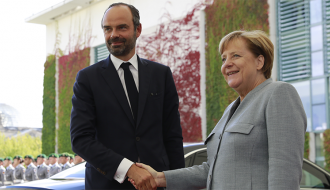 "Édouard Philippe in Berlin: ""France must be strong for its partners – Germany first and foremost"""