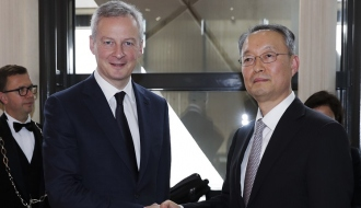Enhanced economic cooperation between France and South Korea