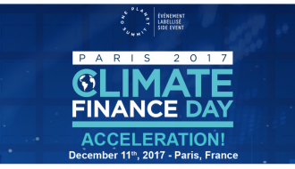 The financial sector is 100% committed to the fight against climate change
