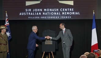 Speech by Édouard Philippe in remembrance of the World War I Battle of Villers-Bretonneux
