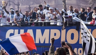 French football team is world champion!