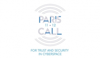 Cybersecurity: Paris Call for Trust and Security