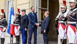 Photo Gallery- Official visit of Lebanon's President, Michel Aoun