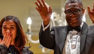 France, the 1st country to finance the Mukwege Foundation and Nadia's Initiative