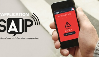 L'application d'alerte mobile SAIP