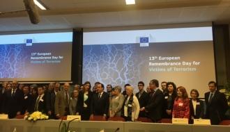 Signature d'une feuille de route européenne pour l'aide aux victimes du terrorisme