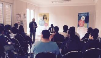E2C du Val de Marne, Jean-Marc Mormeck rend visite aux élèves