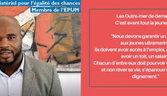 """Jean-Marc MORMECK: """"Les jeunes ultramarins doivent participer activement et massivement aux Assises des Outre-mer"""""""
