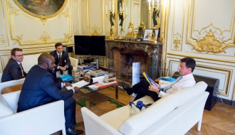 M. le Premier ministre reçoit M. Mormeck