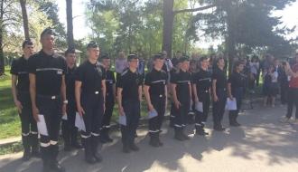 Remise des brevets aux cadets de la gendarmerie d'Ile de France par le Délégué interministériel Jean-Marc MORMECK #Fierté et #Exemplarité