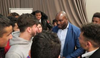 A Mitry-Mory,  Jean-Marc MORMECK veut donner aux jeunes l'envie d'entreprendre