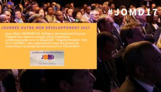 """"""" La  #JOMD une opportunité pour les jeunes de concrétiser un projet professionnel en #OutreMer """""""