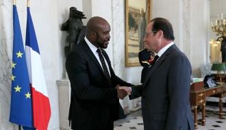 Jean-Marc MORMECK, Délégué interministériel reçu par le Président de la République