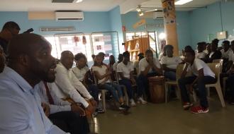 La « Semaine de l'Entrepreneuriat dans les Quartiers » est lancée en Guadeloupe par Jean-Marc MORMECK