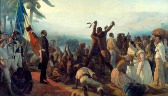 Le décret abolissant l'#Esclavage sur l'ensemble des territoires de l'empire colonial français a été signé il y a 170 ans, le 27 avril 1848. Il libérera environ 250 000 esclaves.