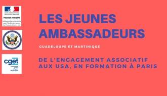 Les Jeunes Ambassadeurs de l'engagement associatif en formation à Paris