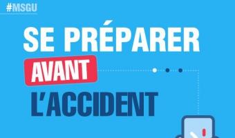 Aperçu de l'infographie : Se préparer avant l'accident      - voir en plus grand