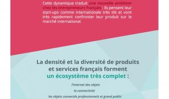 infographie illustrant la présence de la France au CES2017 - voir en plus grand
