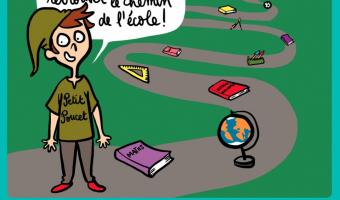 Retrouver le chemin de l'école - voir en plus grand