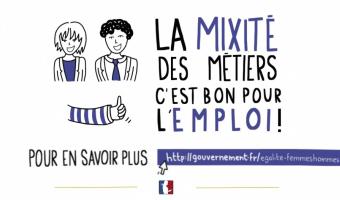 Vignette : La mixité des métiers, c'est bon pour l'emploi ! - voir en plus grand