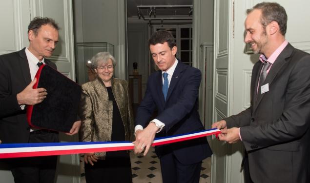 Inauguration du musée Rodin
