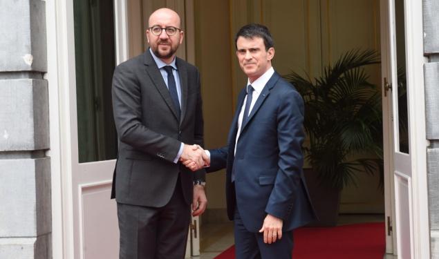 Déplacement à Bruxelles