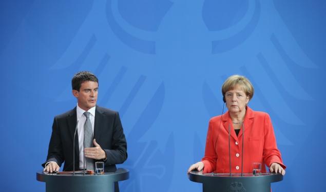 """""""Je veux dire aux Allemands que les réformes, nous allons les faire."""""""