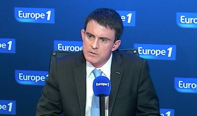 """Manuel Valls sur Europe 1 : """"Quand il s'agit des valeurs de la République, on ne transige pas"""""""